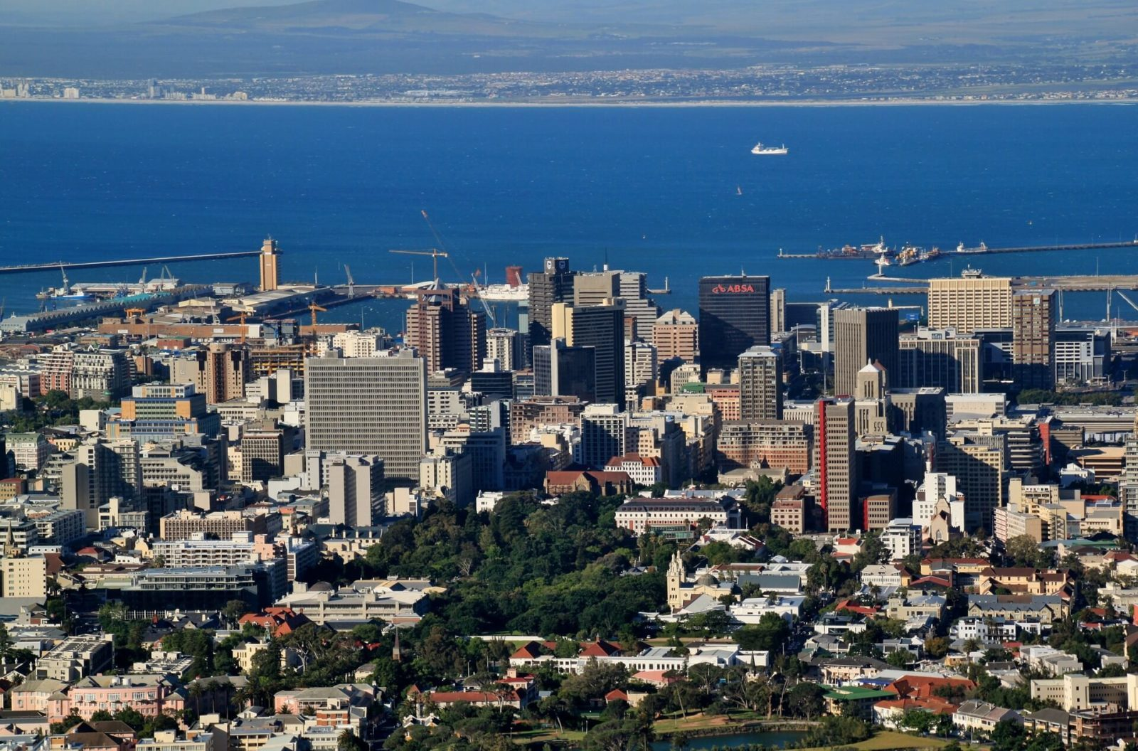 Cape Town Cycling Tours - Cape Town Skyline