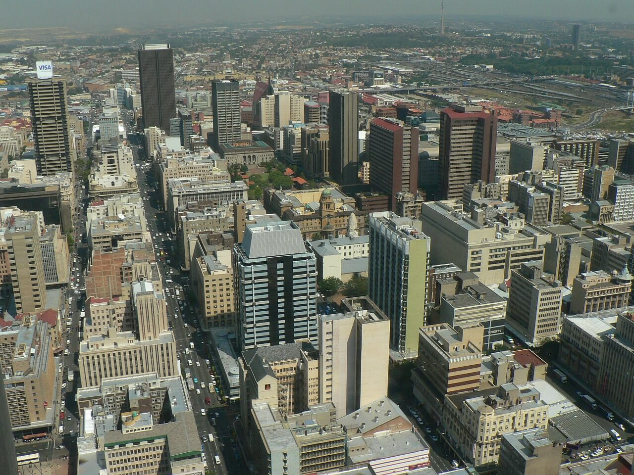 South Africa Holidays Johannesburg Skyline