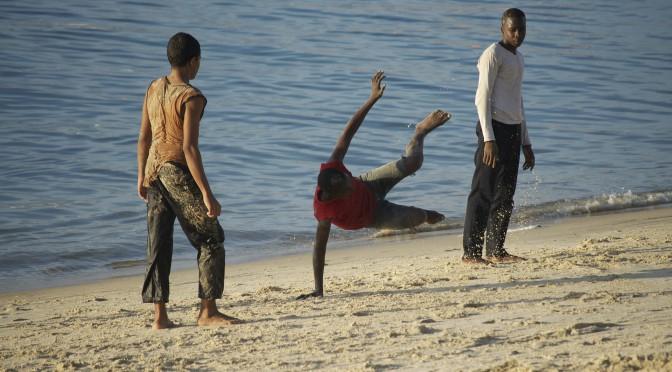 Capoeira, Beach, Africa