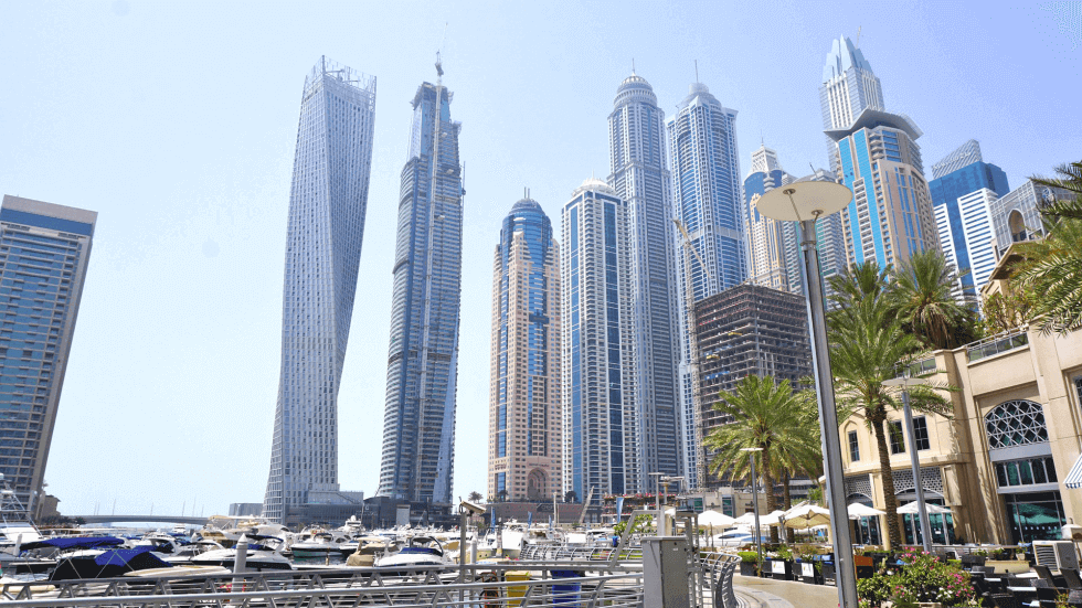 Tourist attractions in Dubai - Dubai Marina