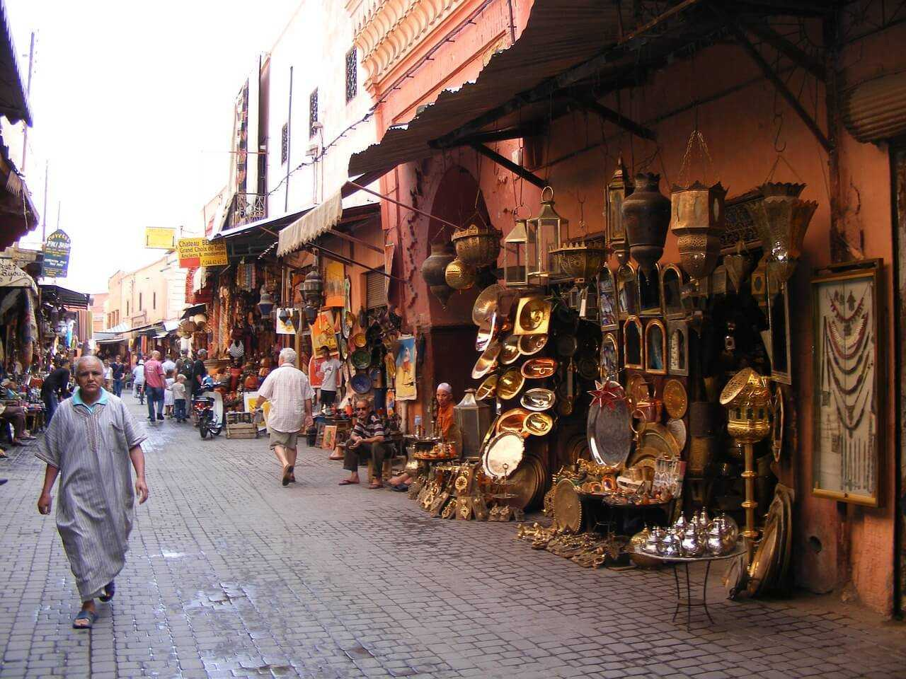 Things to do in Marrakech - Old Medina Souks marrakesh