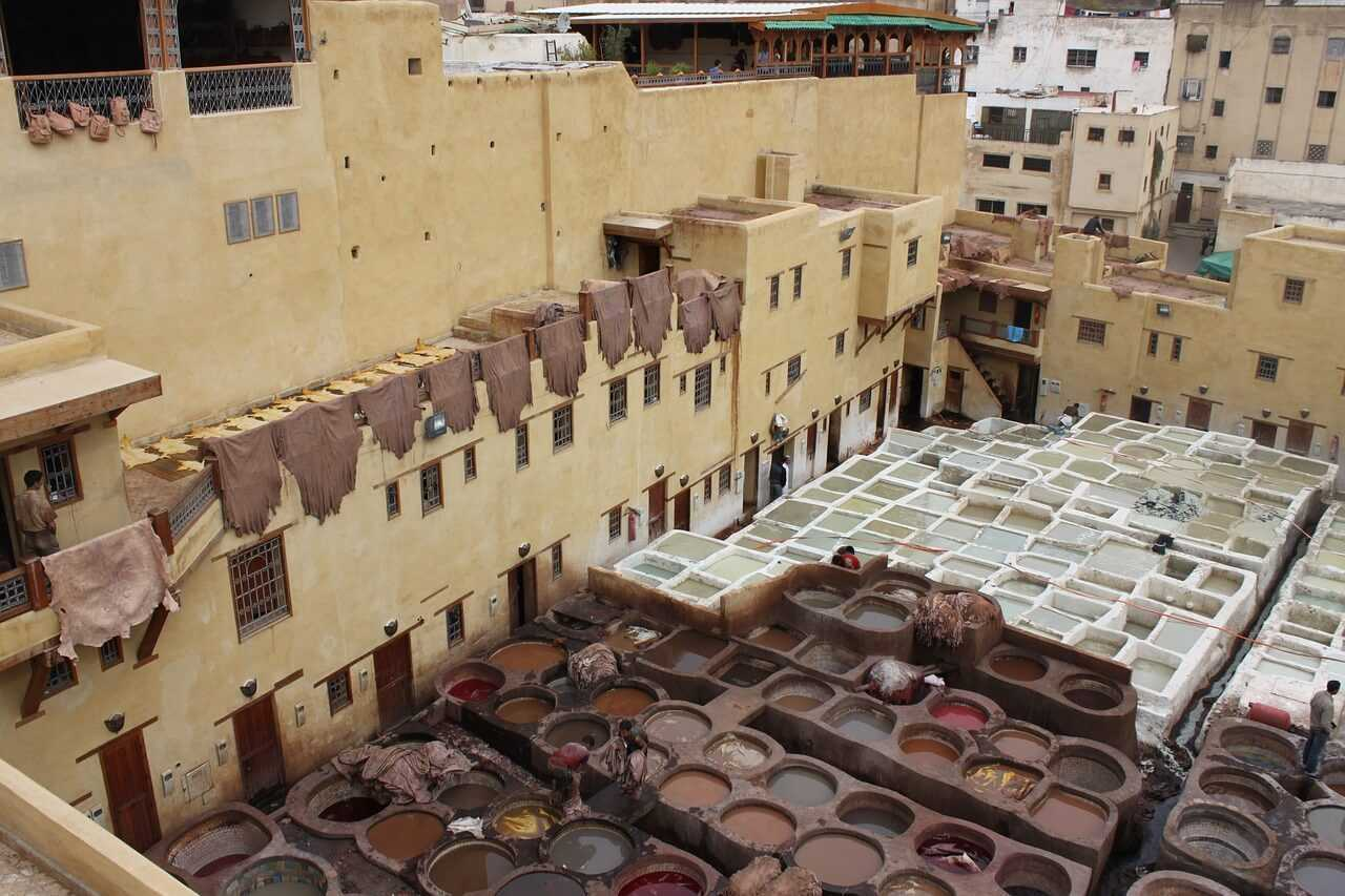 Things to do in Marrakech - The Tanneries Marrakech