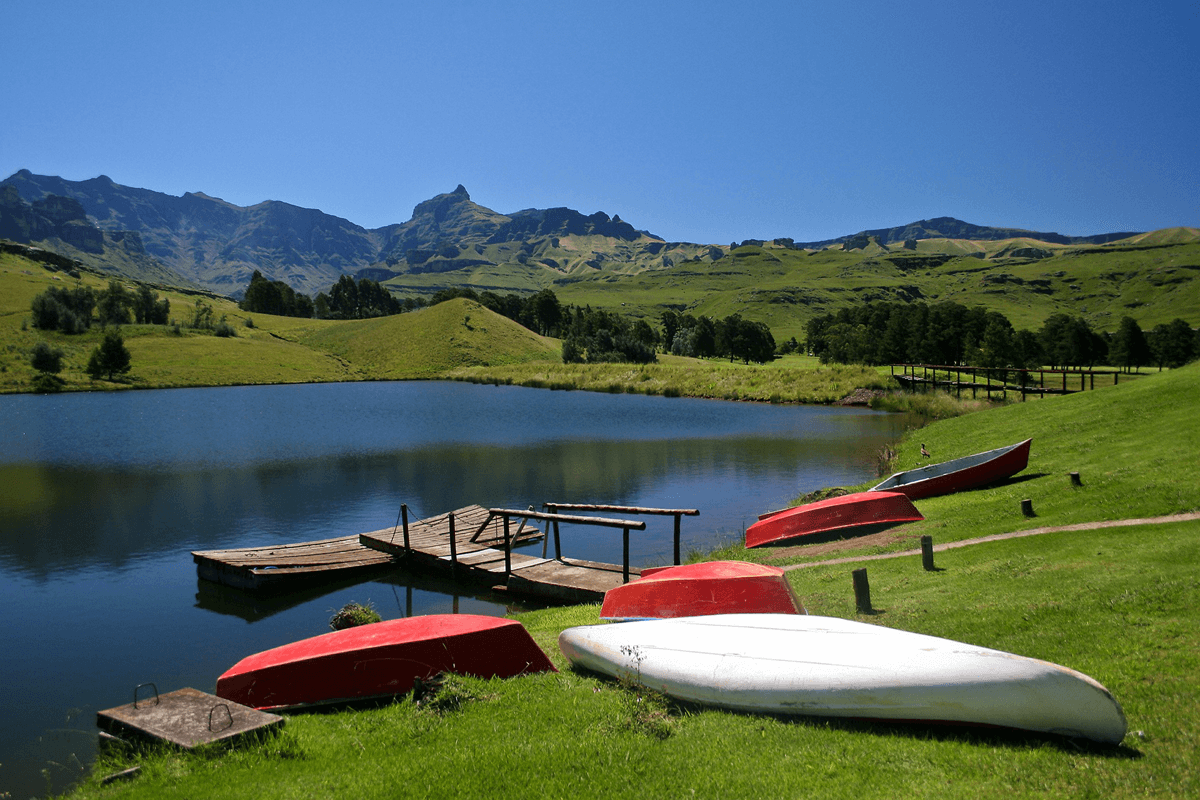 South Africa Holidays Drakensberg Mountains Kanu