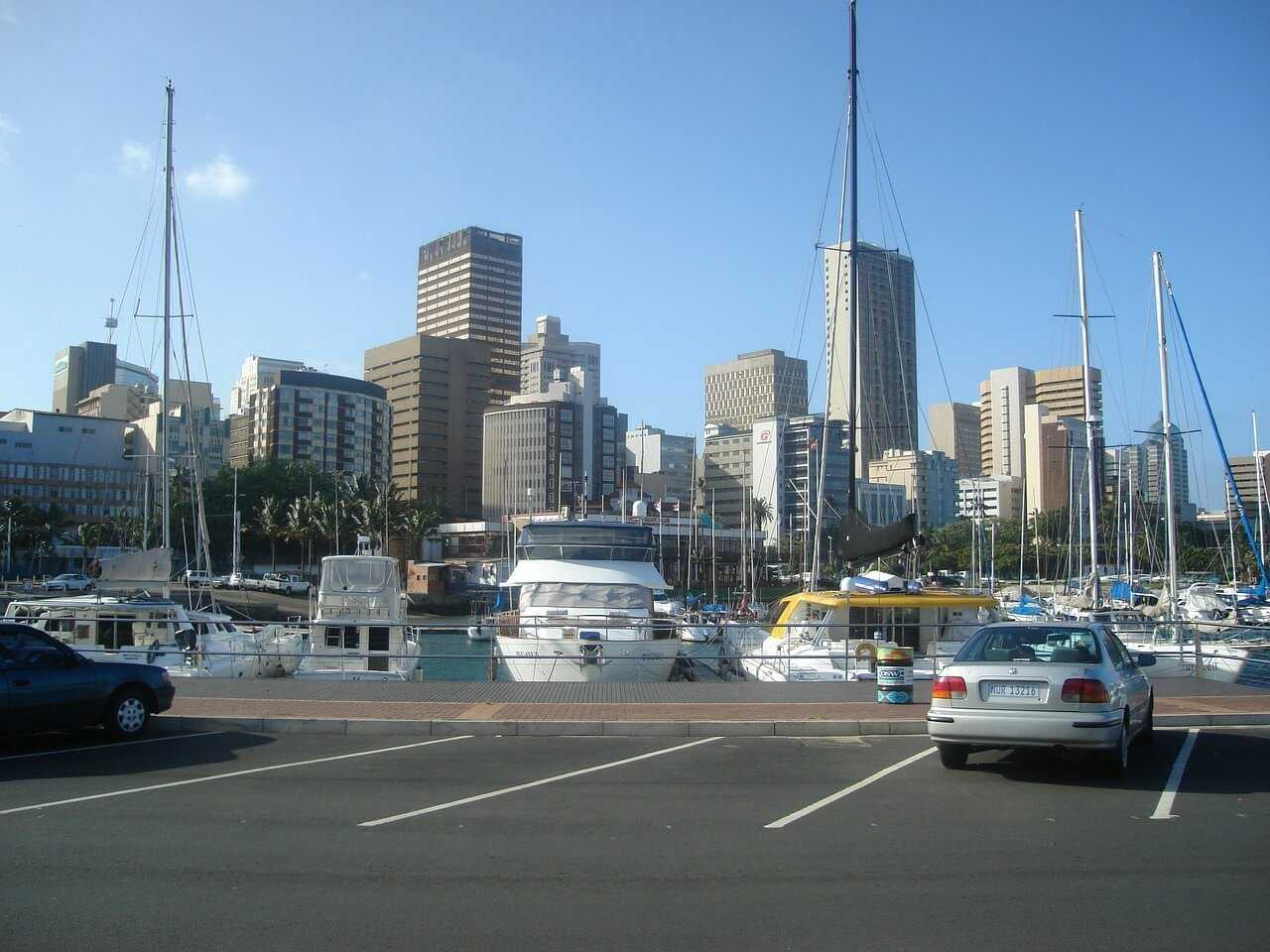 South Africa Holidays - Durban Harbour