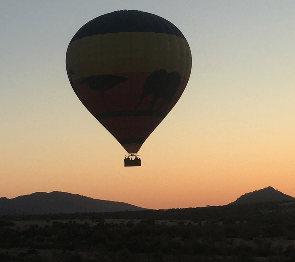 South Africa Holidays Hot Air Ballon Flight
