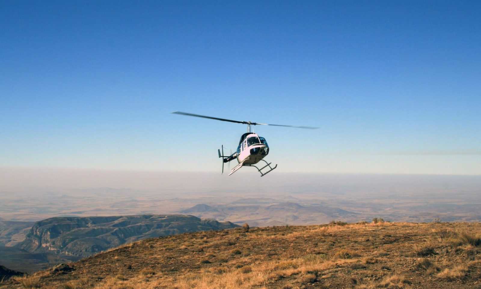 South Africa Holidays Helicopter Flight