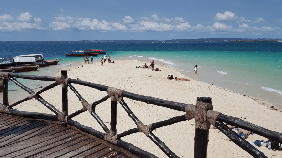 Zanzibar Holidays - Tropical Beach Prison Island Tour