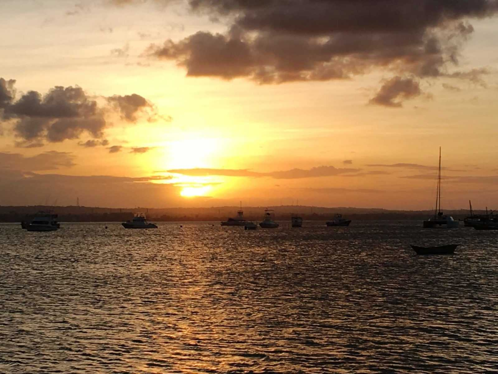 Things to do in Dar es Salaam - harbour sunset