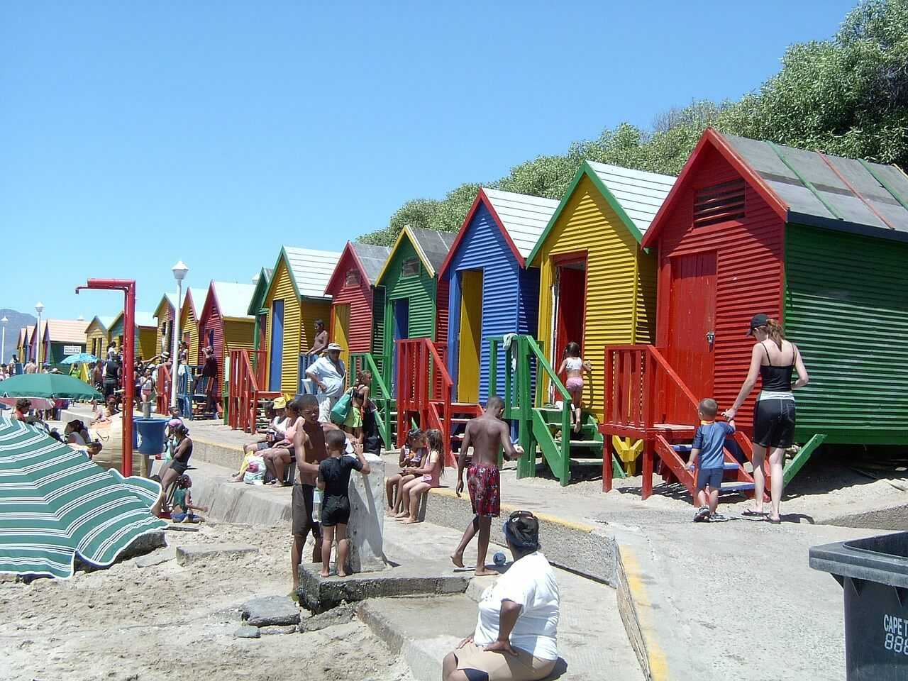 Things to do in Cape Town - beach houses