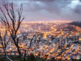 cape town skyline night lights