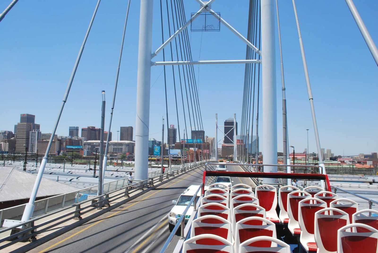 Nelson Mandela Bridge - Things to do in Johannesburg