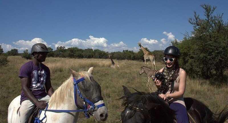 Horseback Tours Johannesburg - champagne romantik