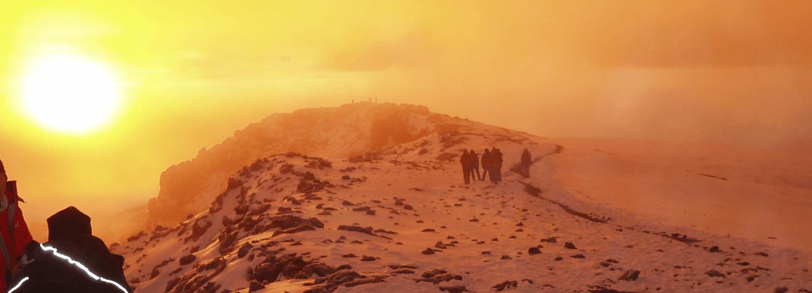 Climbing Kilimanjaro in Tanzania