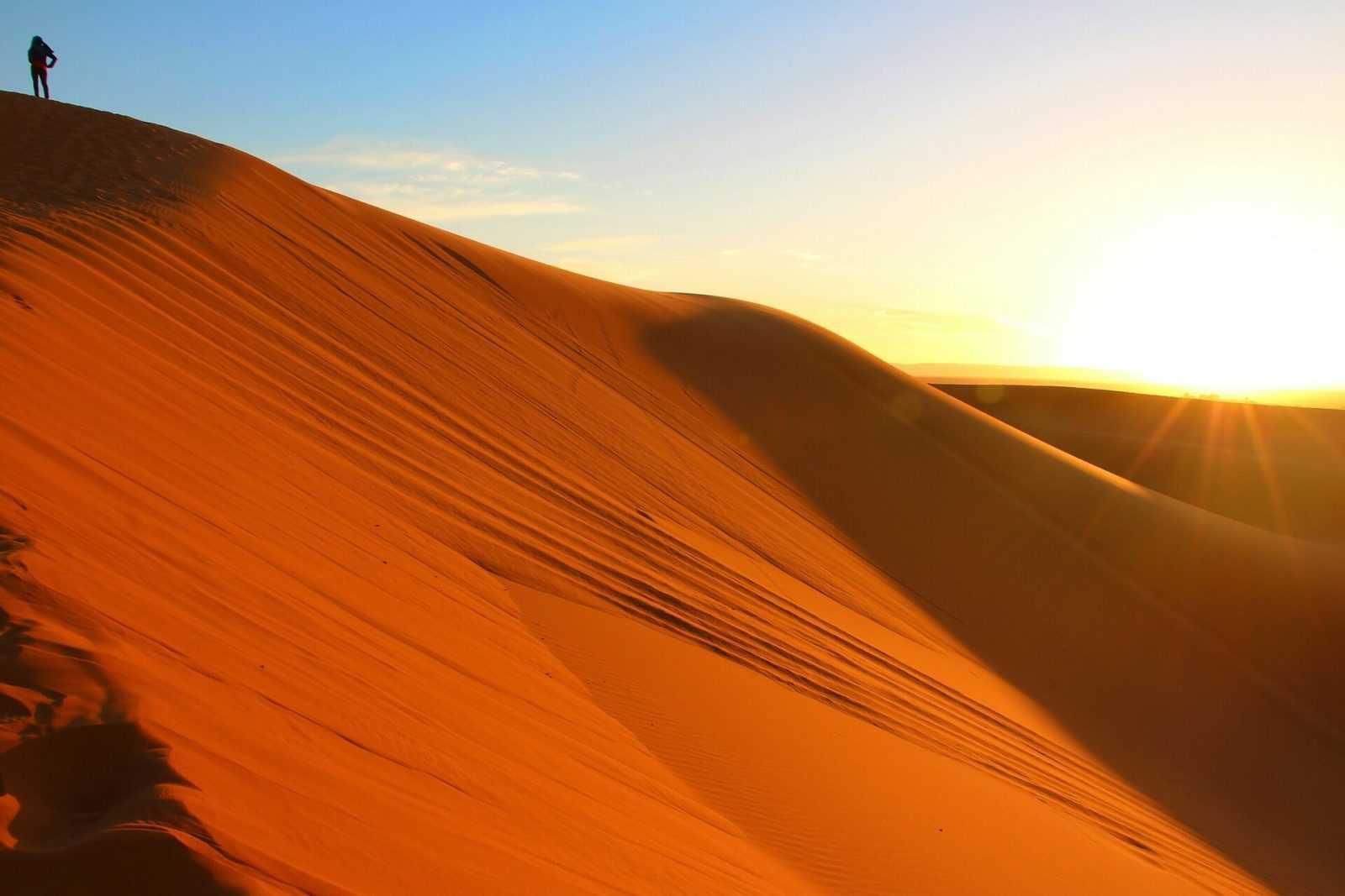 Moroccos desert tours sunrise