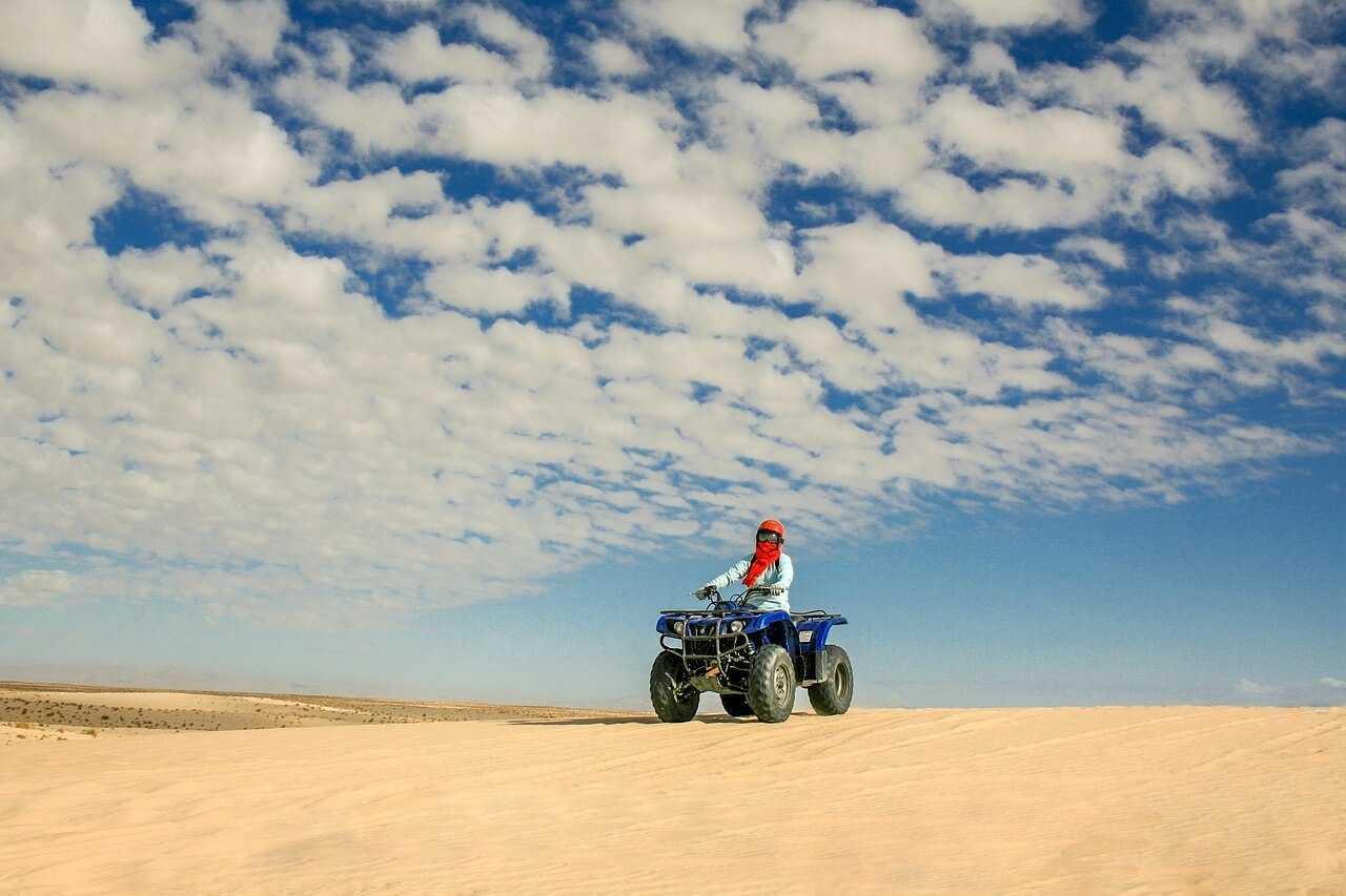 Things to Do in Boa Vista - quad biking desert