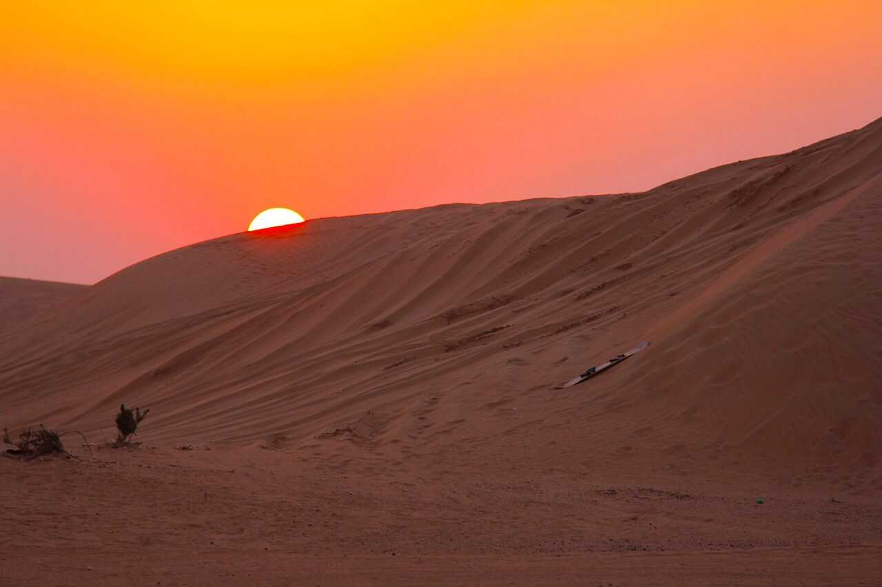 Dubai Desert Tours sunset