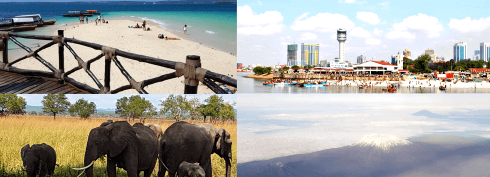 Tanzania Safari City Beach Holiday