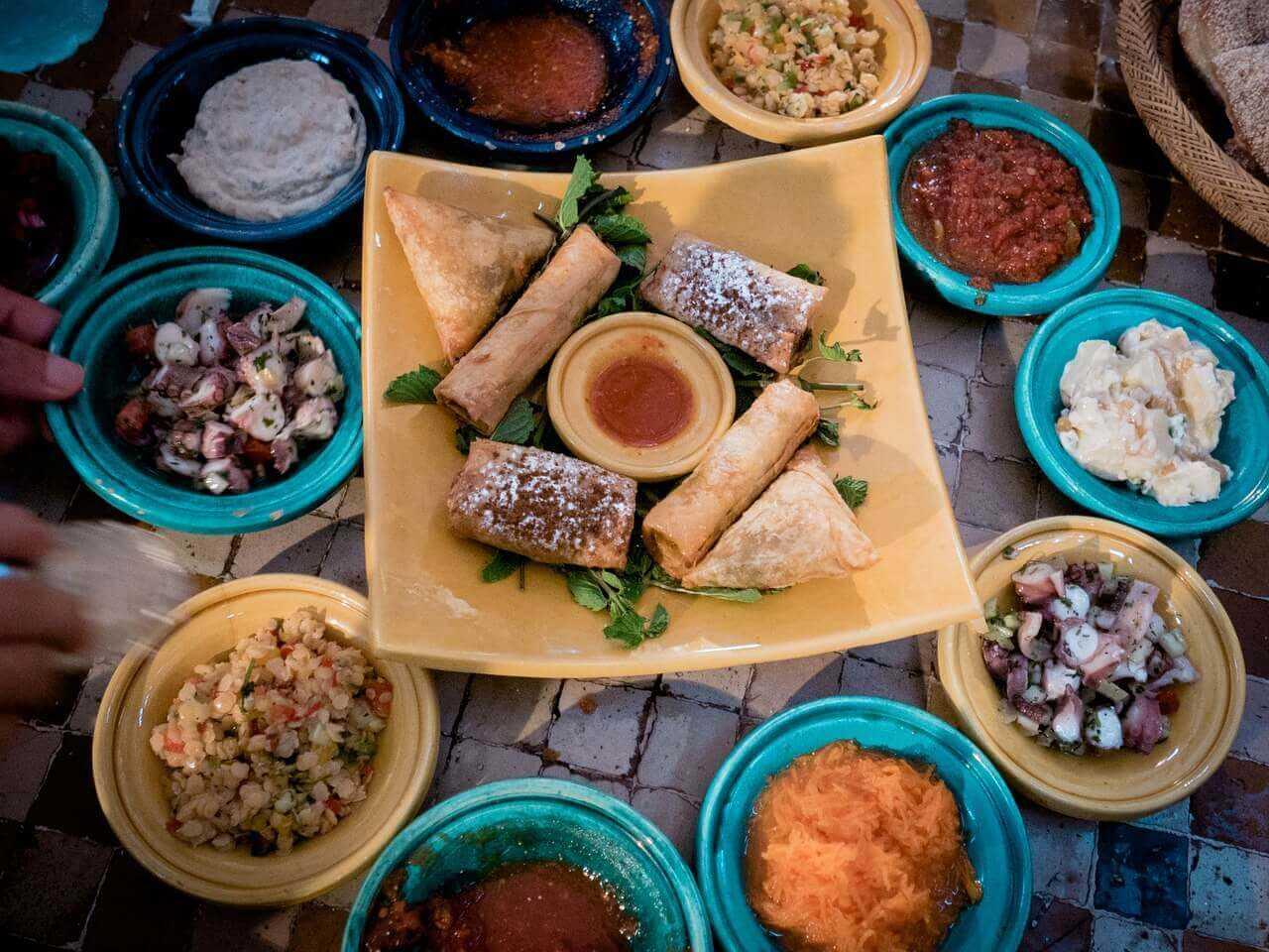 Marrakech Food Tours shells