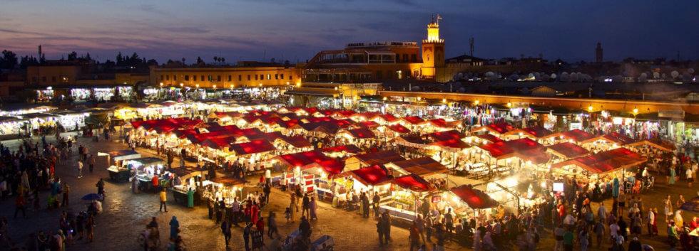 Marrakech Holidays djemaa el-Fna
