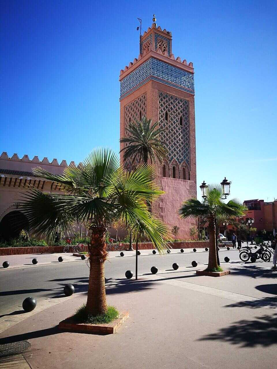 marrakech holidays architecture
