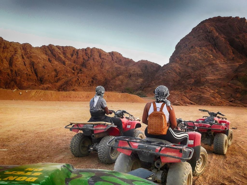Egypt holidays desert quadbiking