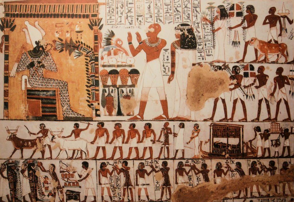Egypt holidays mural