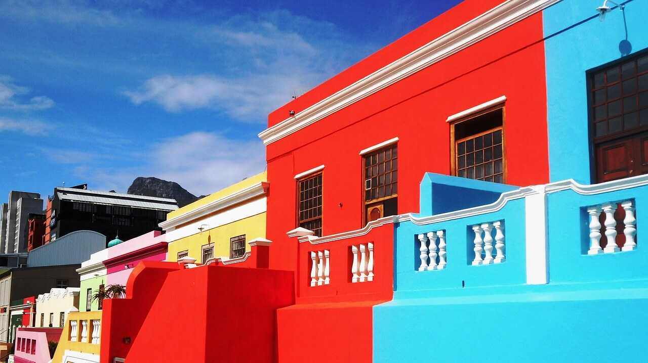 South Africa Holidays Bo-Kaap Architecture