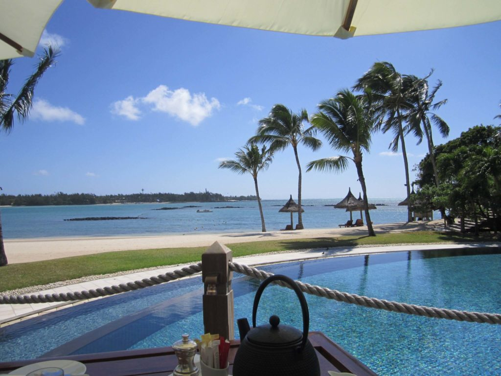 Holiday to Mauritius 2020 - Hotel Pool Beach