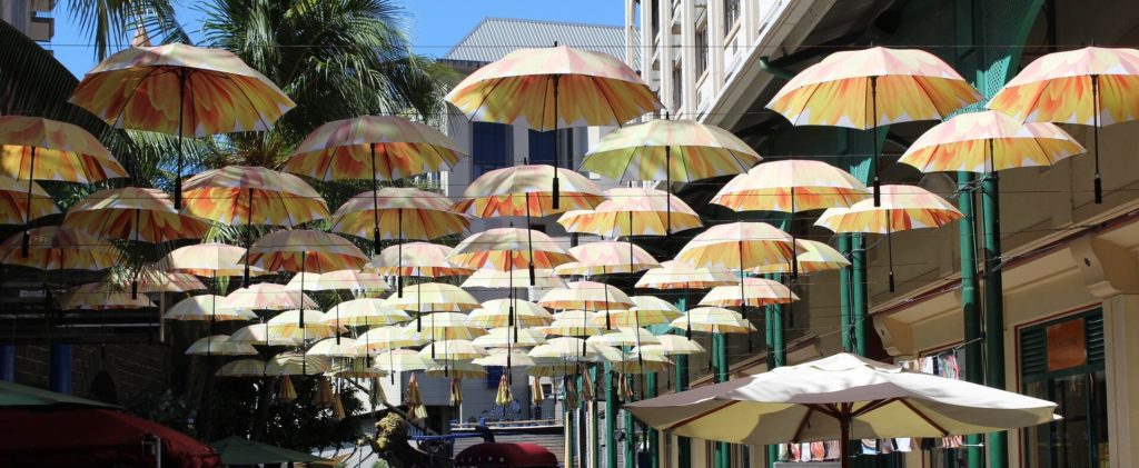 Holiday to Mauritius 2020 - Port Louis Parasols