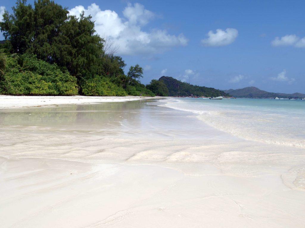 Seychelles Holidays Praslin Island White Sand