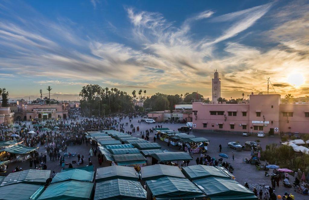 Morocco Holidays Shopping Bazar