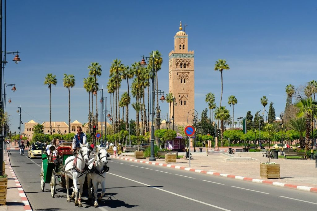 Things to do in Morocco Koutoubia Mosque