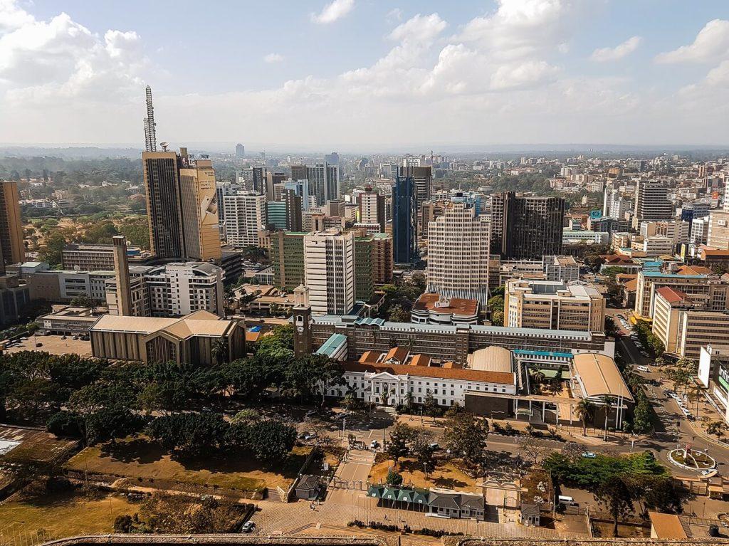 Kenya holidays -  Nairobi City Skyline