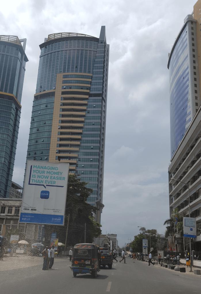 Tanzania Safari Holidays Dar es Salaam Business District Skyline