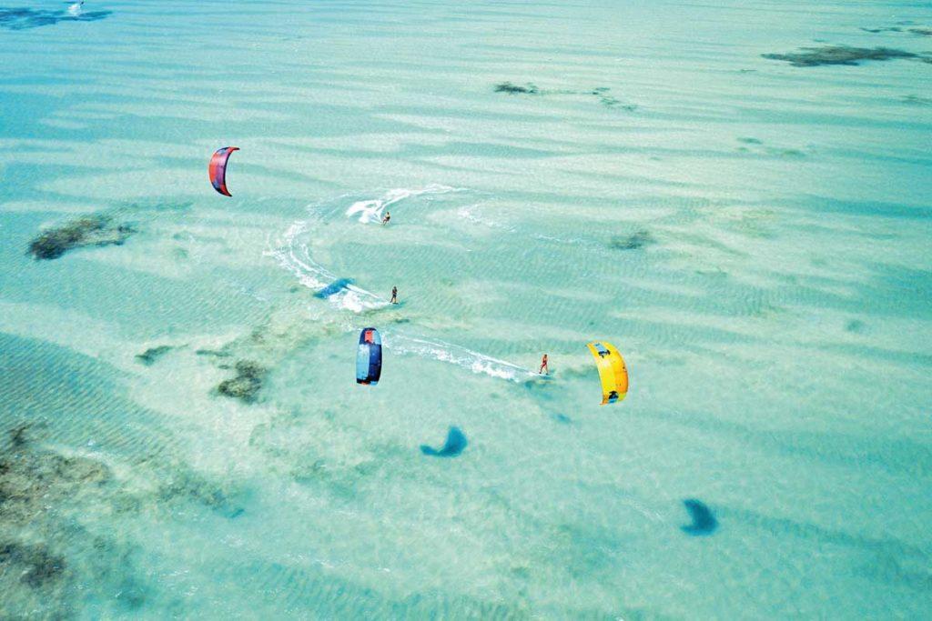 Tanzania Safari and Holidays - Zanzibar Kite Surfing