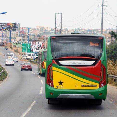 Bus Rapid Transit (BRT) system in Accra