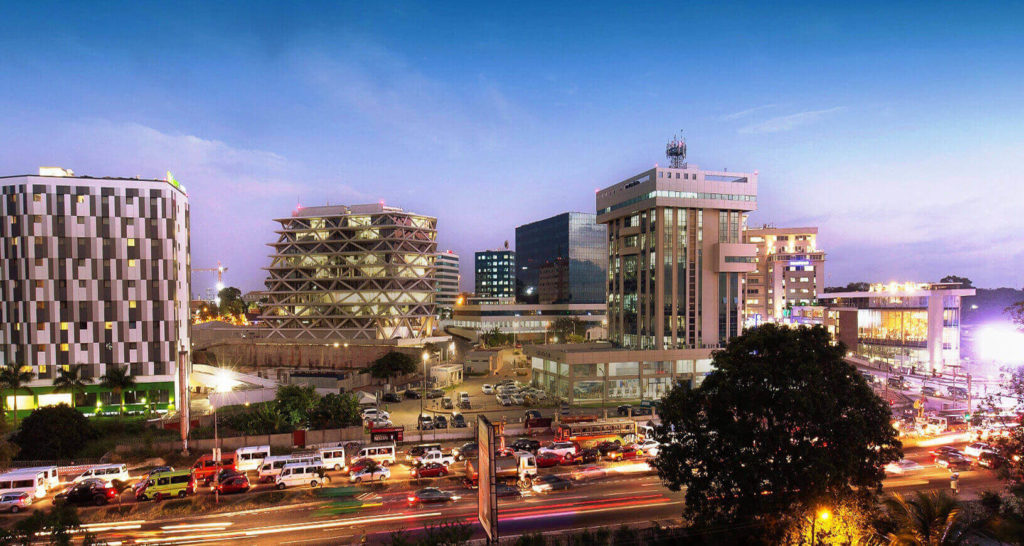 Ghana Travel Accra Skyline