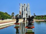 Ghana Travel and Holidays Guide Kwame Nkrumah Monument in Accra