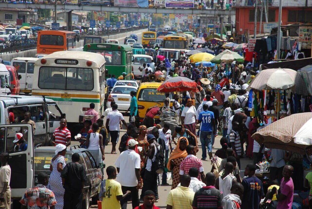 Ghana Travel Accra Street
