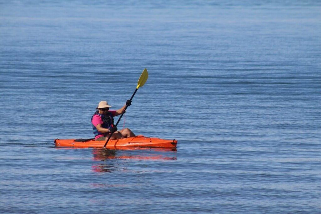 Ghana travel kayaking