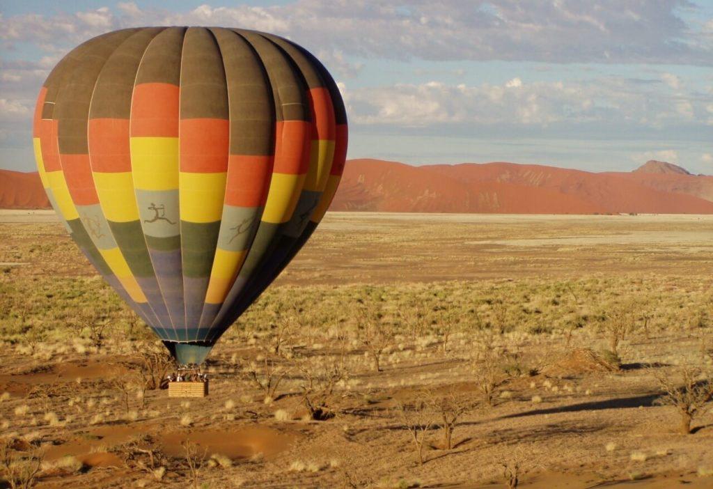 Namibia Safari Holidays Desert Hot Air Balloon