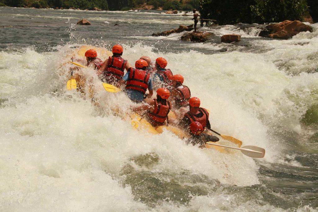 Uganda Safari Holidays - Nile Water Rafting