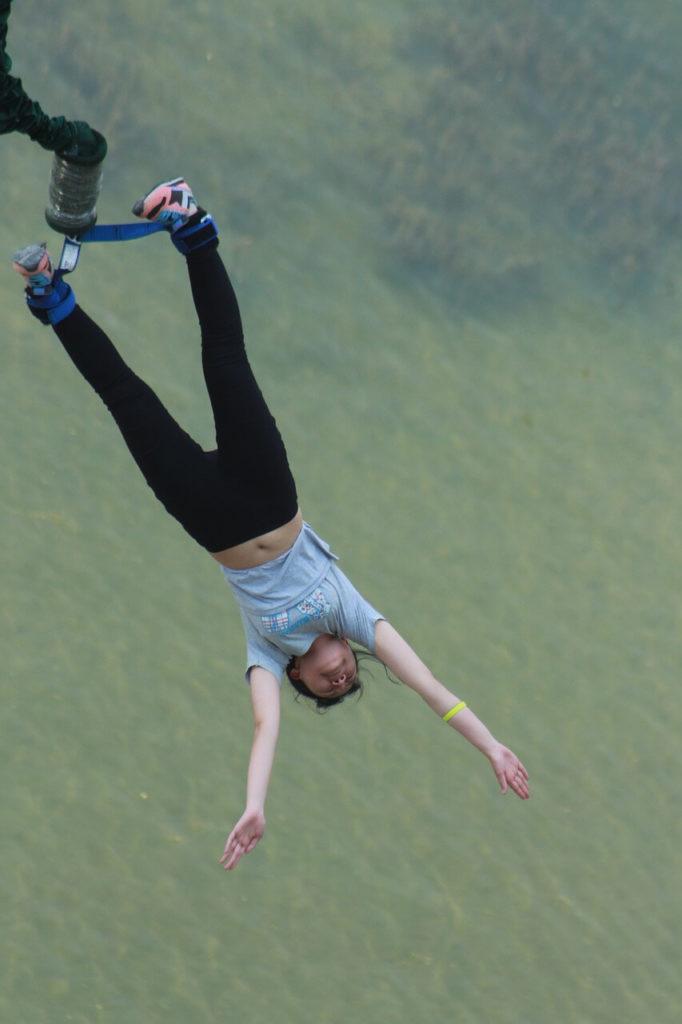 Bungee Jumping - Zambia Safari & Holidays