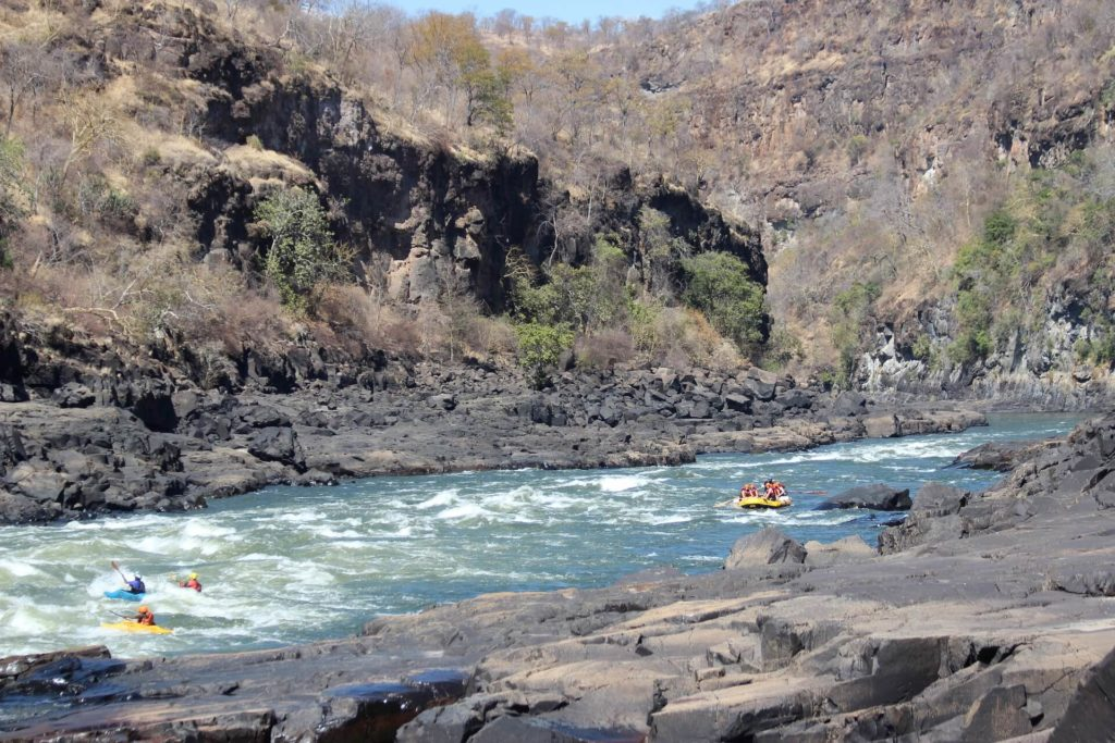 White Water Rafting - Zambia Safari & Holidays