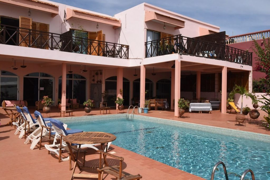Senegal Holidays and Travel Guide - Hotel Pool