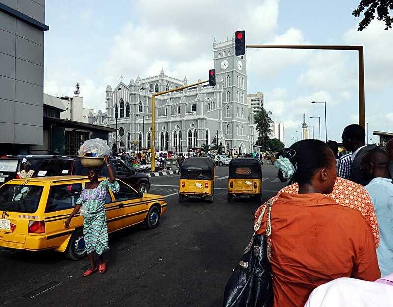 Lagos, Nigeria Cathedral