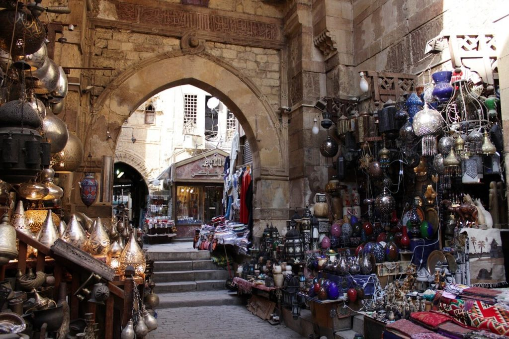 The Khan el Khalili Bazaar