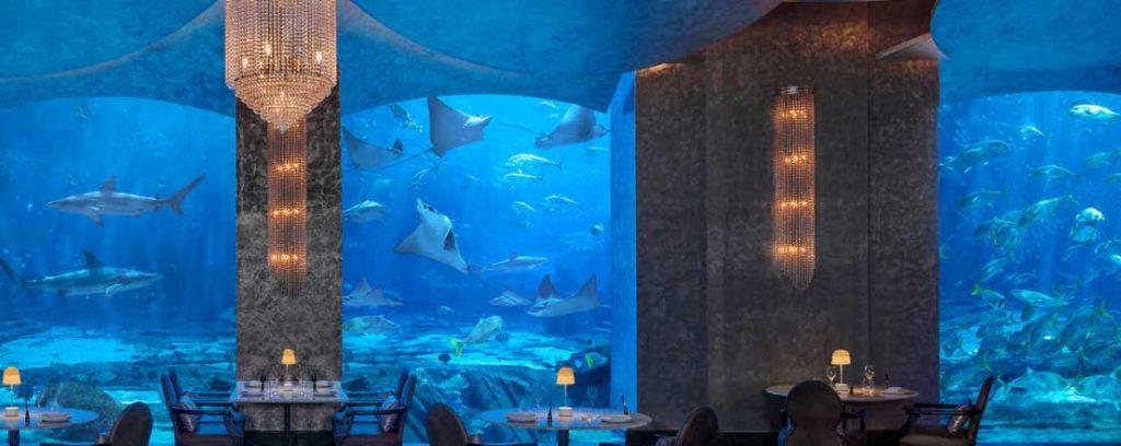 Ossiano -Best Restaurants in Dubai