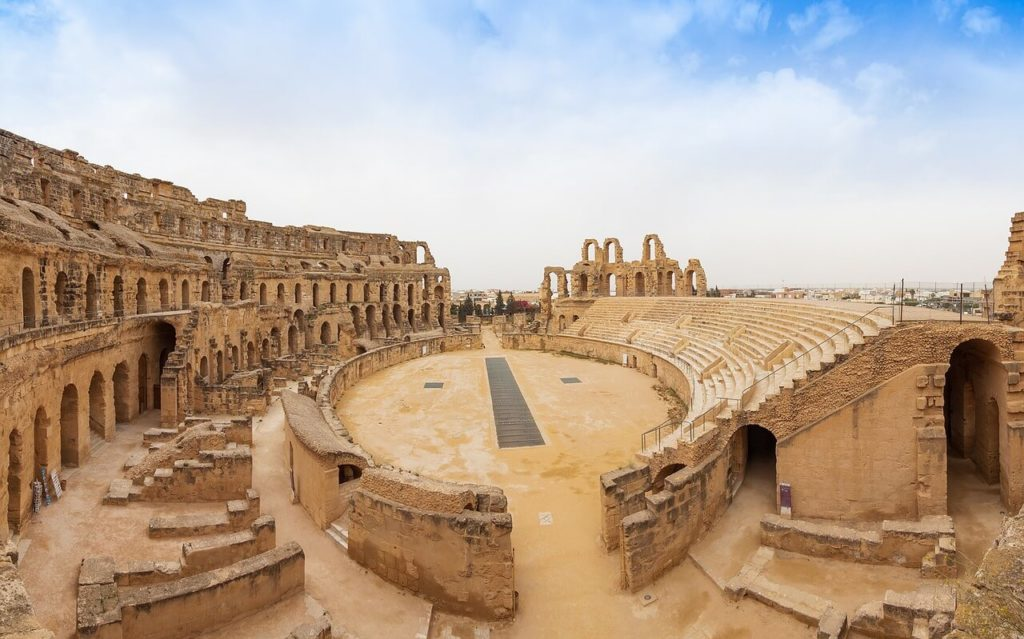 Roman Empire in El Djem, Tunisia - Holidays in Africa
