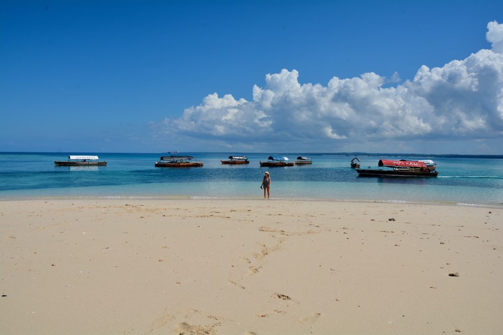 Safari Blue tour -  Water activities in Zanzibar